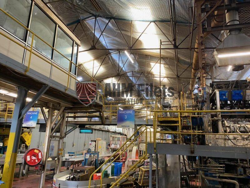 polyane vertical protection anti-poussière - usine bretagne